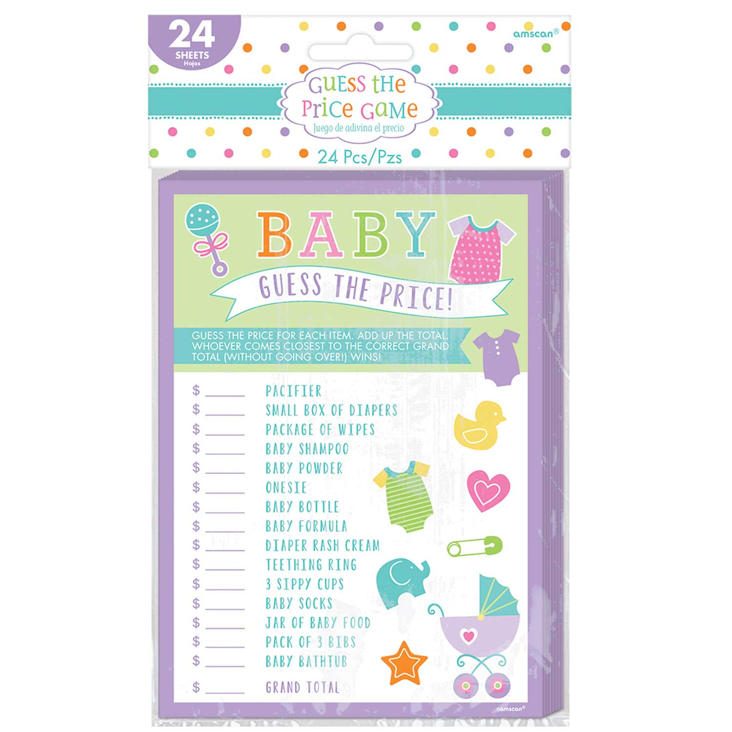 5 Cute Baby Shower Games Party Rocks Blog