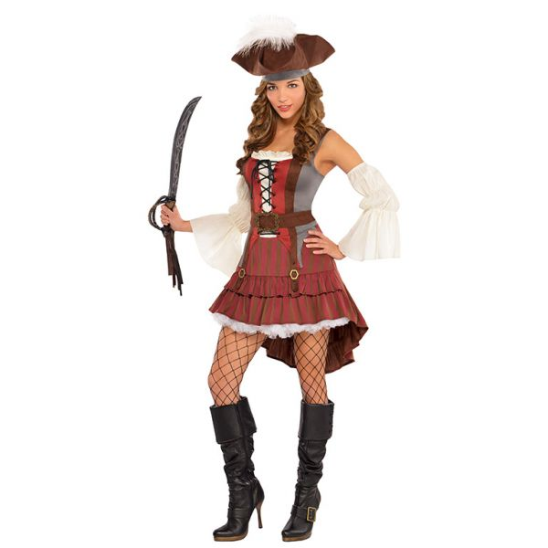 Adults Castaway Pirate Costume