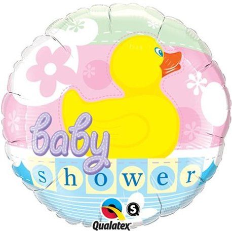Baby Shower Duckie Foil Balloon