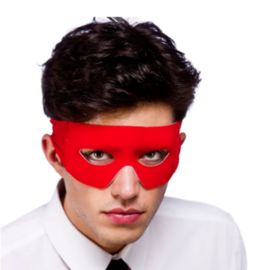Bandit/Superhero Mask - Red