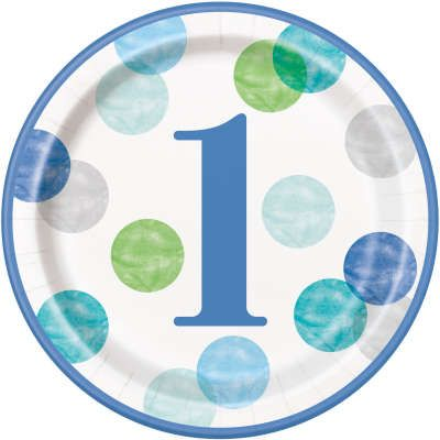 Blue Dots 1st Birthday