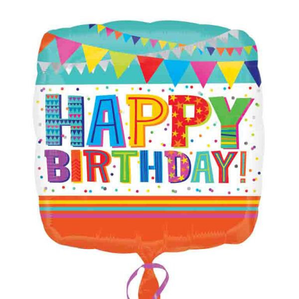 Bright & Bold Birthday Balloon
