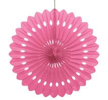 Decorative Fans - Pink
