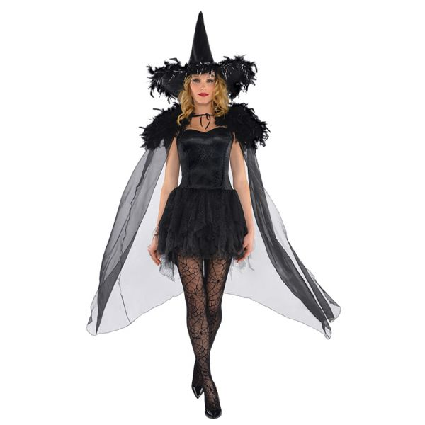 Feathered Witch Cape (Coming Soon)