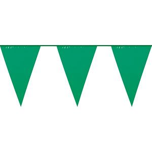 Green Large Flag Bunting