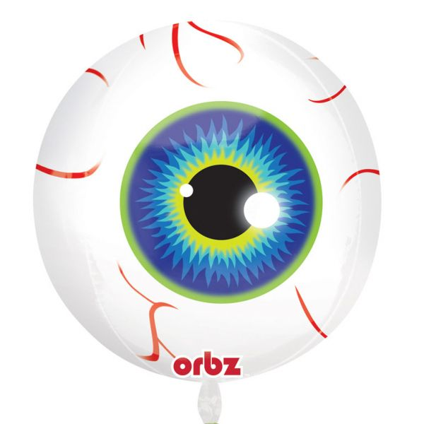Halloween Eyeball Orbz Foil Balloon