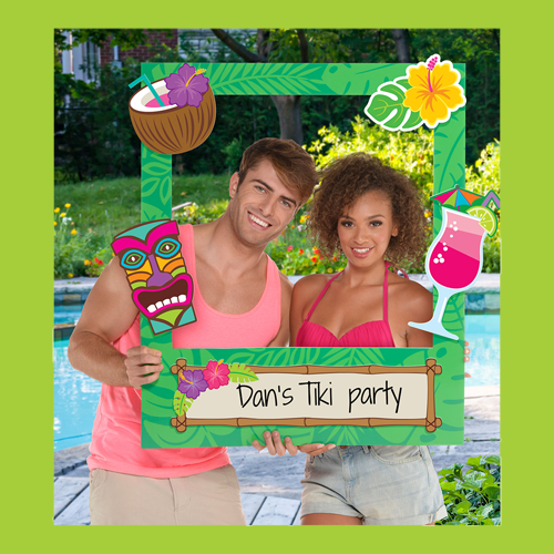 Hawaiian Photo Props & Games