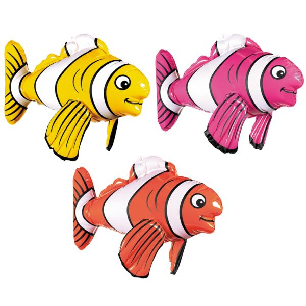 Inflatable Striped Fish 43cm