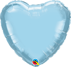 Jumbo Personalised Heart - Pale Blue