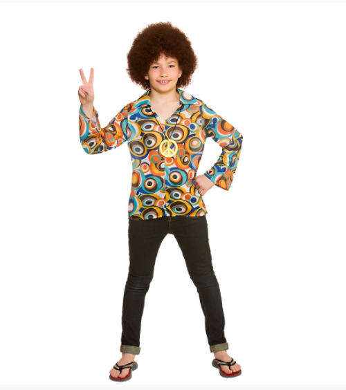 Kids Retro Hippie Shirt