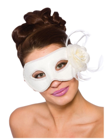 Lariano Eye Mask - White