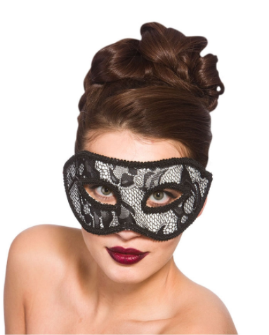 Lucia Eye Mask - Black