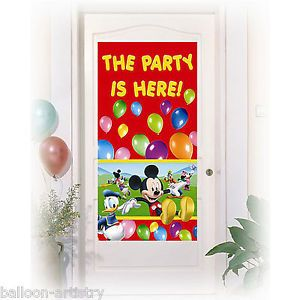 Mickey Mouse Door Sign