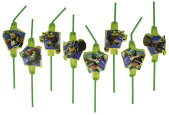 Mutant Ninja Turtles Straws