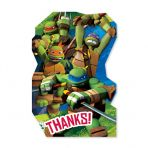 Mutant Ninja Turtles Thank You cards