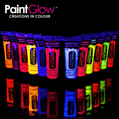 PaintGlow UV Neon Face & Body Paint