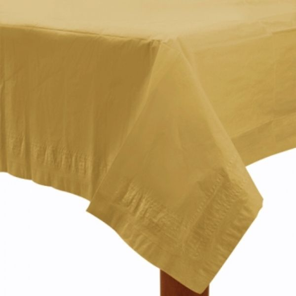Paper Tablecover Gold