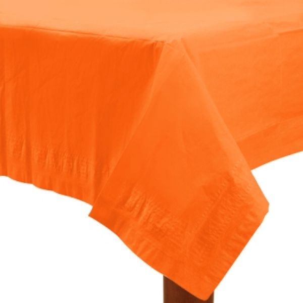 Paper Tablecover Orange Peel