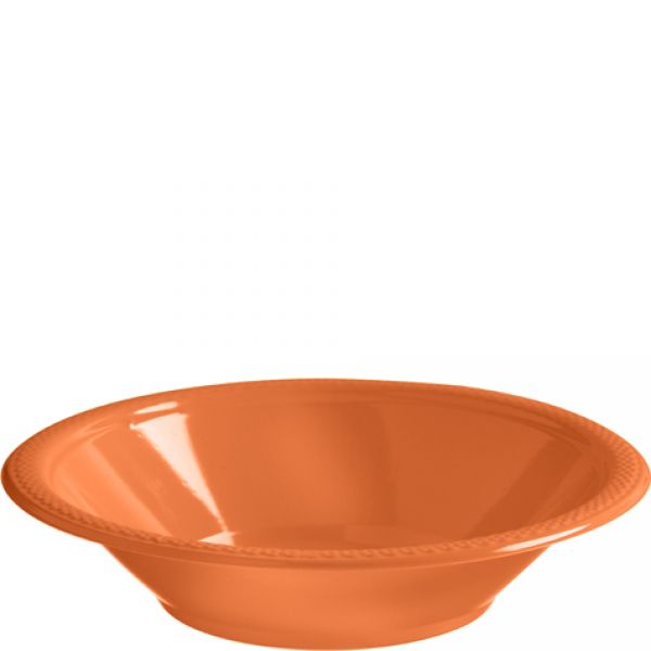 Plastic Bowls Orange Peel