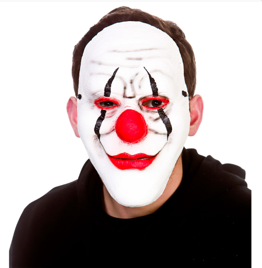 PU Foam Mask - Killer Clown