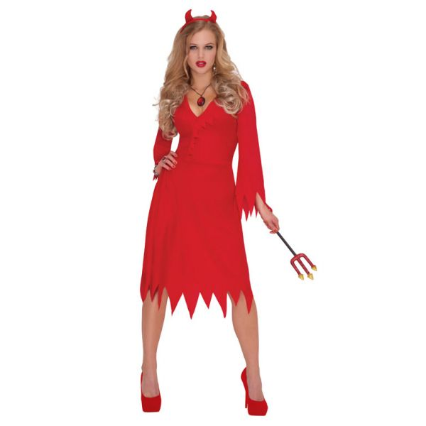 Red Hot Devil Costume - Plus Size