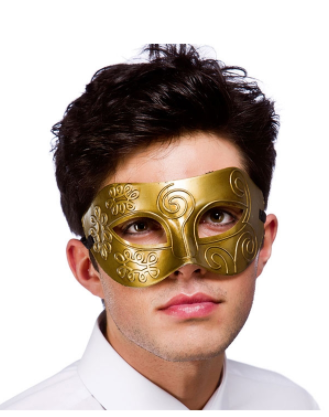 Rome Eyemask - Antique Gold