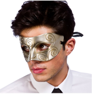 Rome Eyemask - Antique Silver
