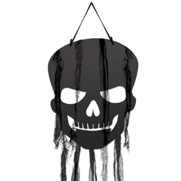 Skull Gauze Cut-out