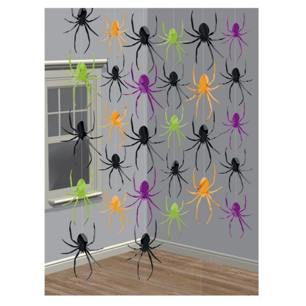 Spider String Decorations