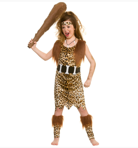 Stone Age Cave Girl