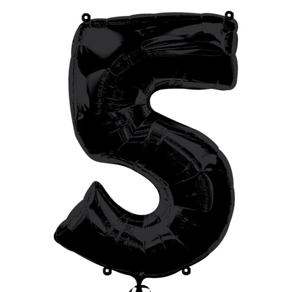SuperShape Number 5 - Black