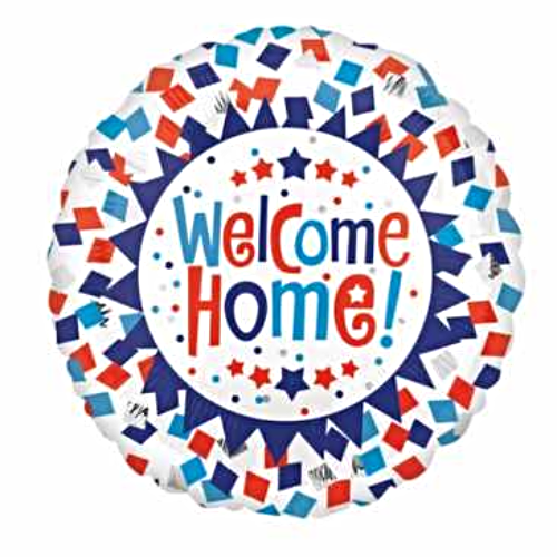Welcome Home! Confetti Balloon