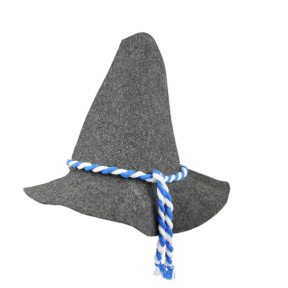 Wizard Hat Grey