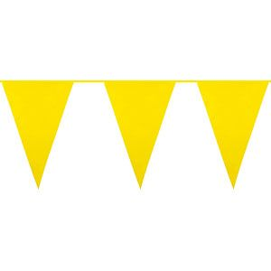 Yellow Large Flag Bunting